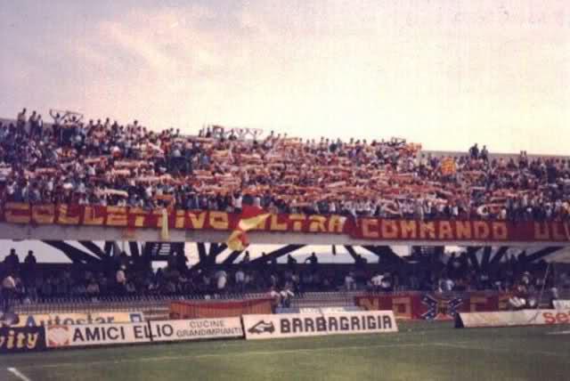 Tifosi del Messina al Riviera. Stagione 86-87.