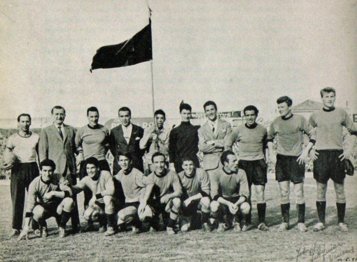 Nella storica promozione del 55-56 la Samb riuscì a sconfiggere avversari come il Venezia.