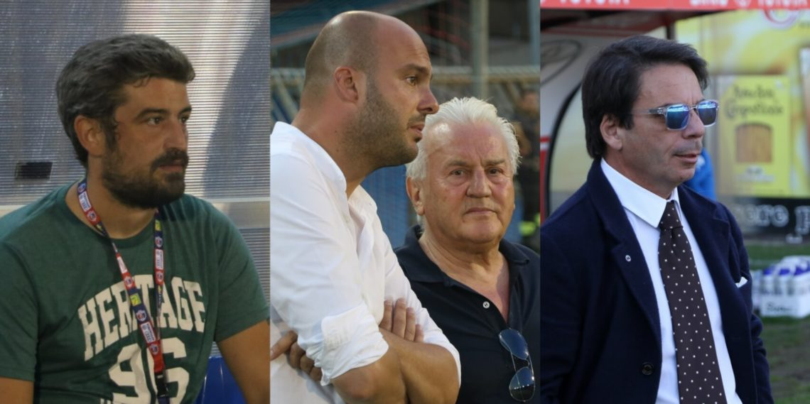 Andrea Fedeli, Francesco Panfili, Franco Fedeli, Ezio Capuano
