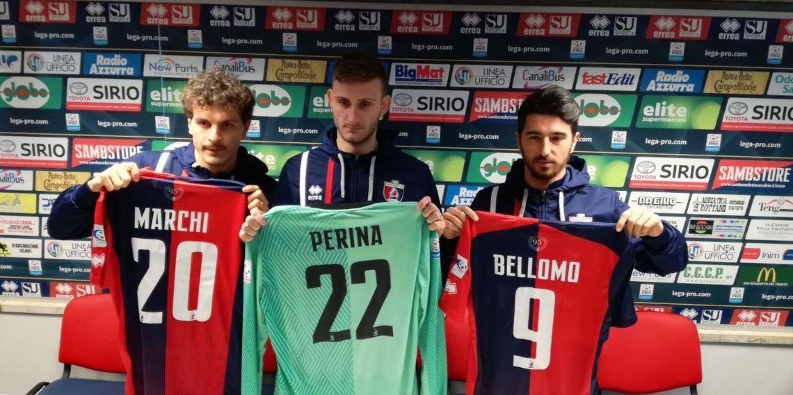 Pietro Perina, Alessandro Marchi, Nicola Bellomo