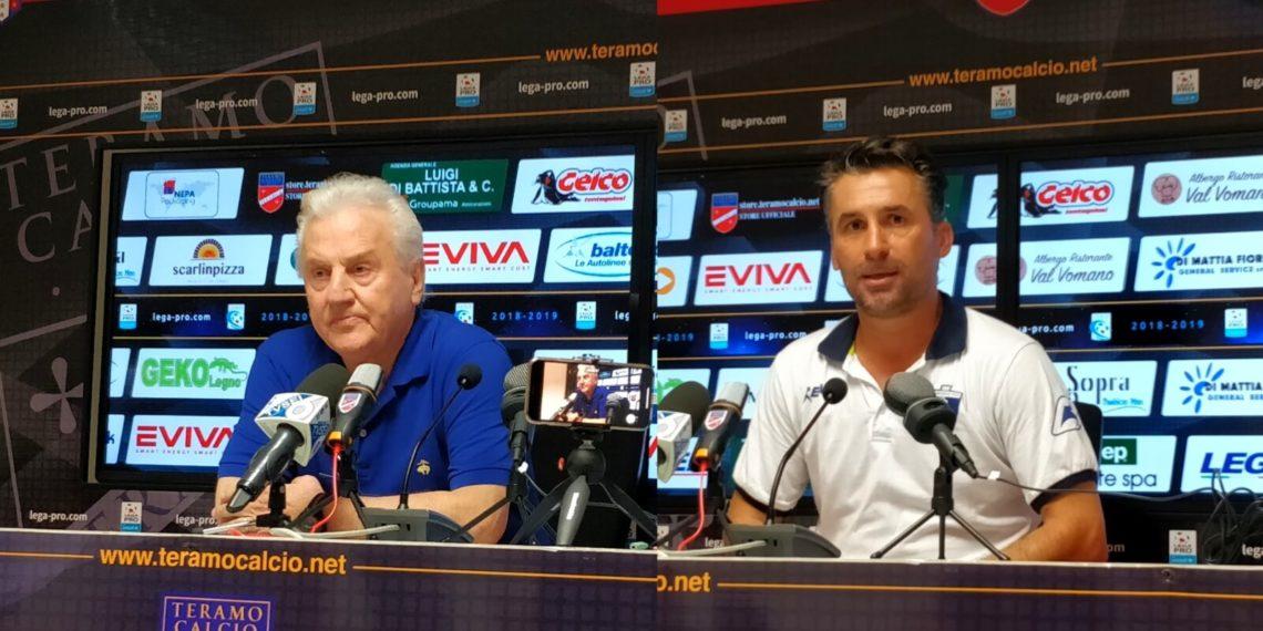 Conferenza stampa Teramo-Samb