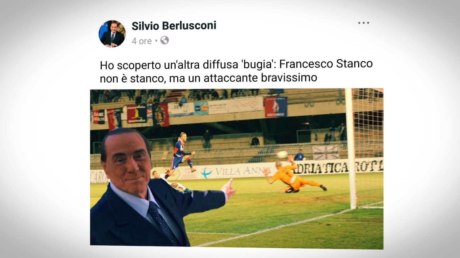 Berlusconi e Stanco