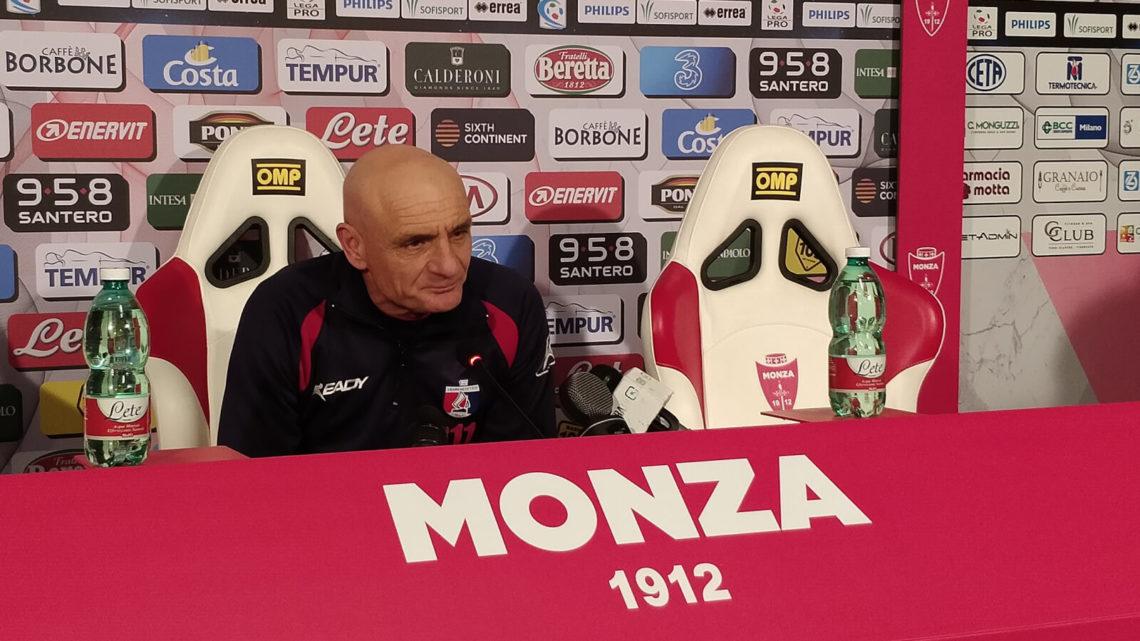 Conferenza Monza-Samb