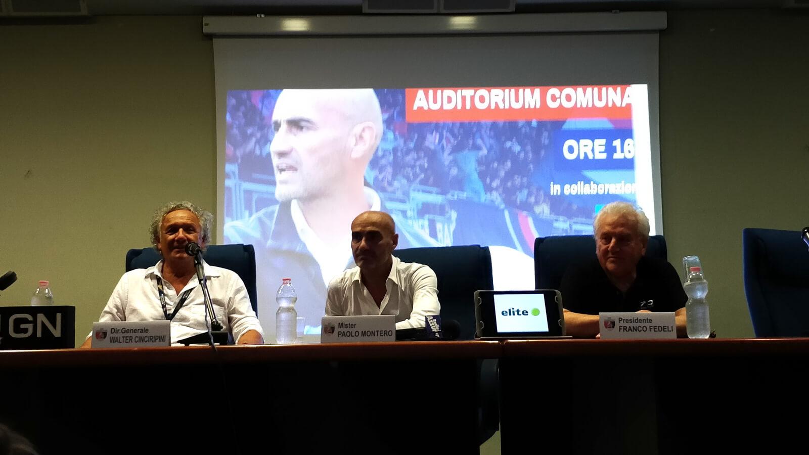 Presentazione Paolo Montero