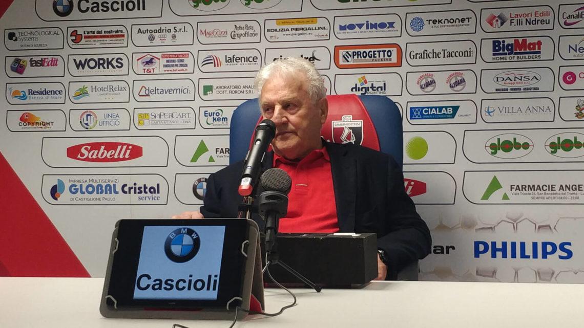 Conferenza Samb-Vicenza