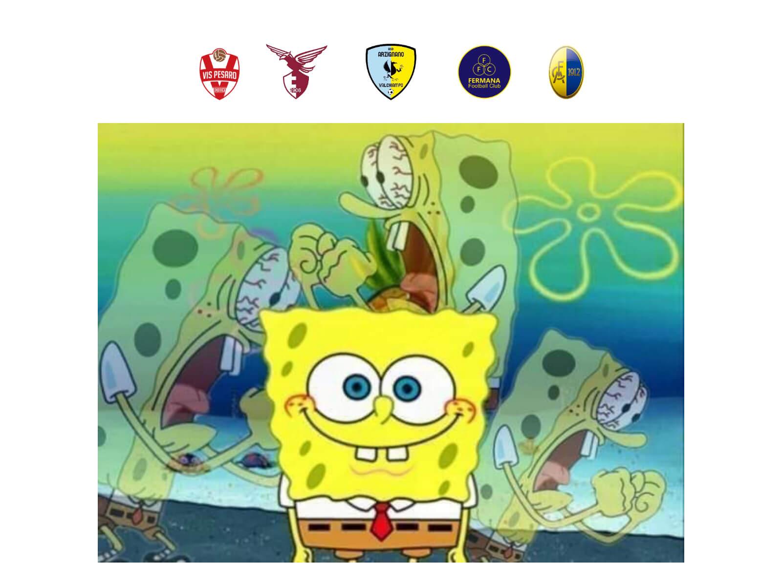 Vernecchie x Spongebob